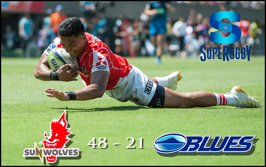 The Blues wilted against Sunwolves when the heat was on in 2017 – Chris Pfaff Inside Sport: Japan, July 15th, 2017