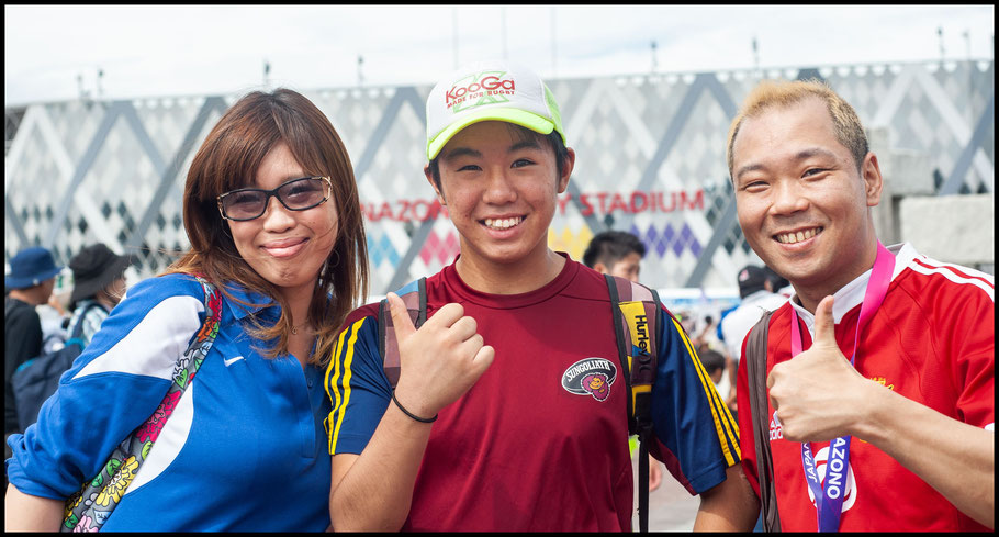 Supporters wore many different team colors  – Lionel Piguet, Inside Sport: Japan, Sept 22, 2019