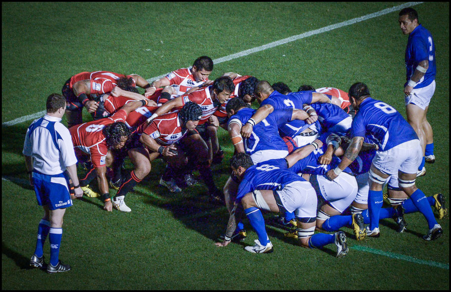 Japan in action against Samoa - John Gunning Inside Sport: Japan, July 2, 2011