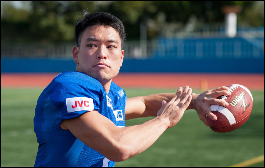 QB Yuki Masamoto has shown greater command at the line of scrimmage this year