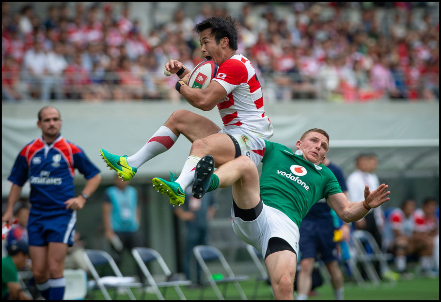 Japan fought harder in the summer's second test against Ireland -  John Gunning, Inside Sport: Japan, June 24, 2017