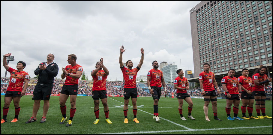 Sunwolves' 36-28 defeat of Argentina's Jaguares was the team's only win in its inaugural season