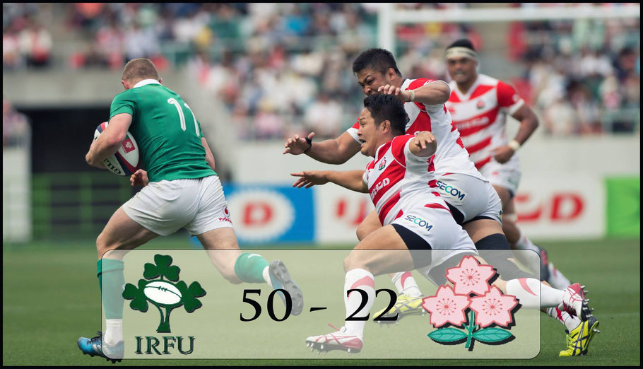 Minus top players Ireland still dominated on that 2017 tour – John Gunning Inside Sport: Japan, June 24, 2017