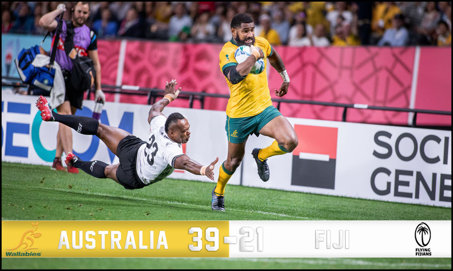 Australia struggled early but pulled away late – Chris Pfaff, Inside Sport: Japan, Sept 21, 2019
