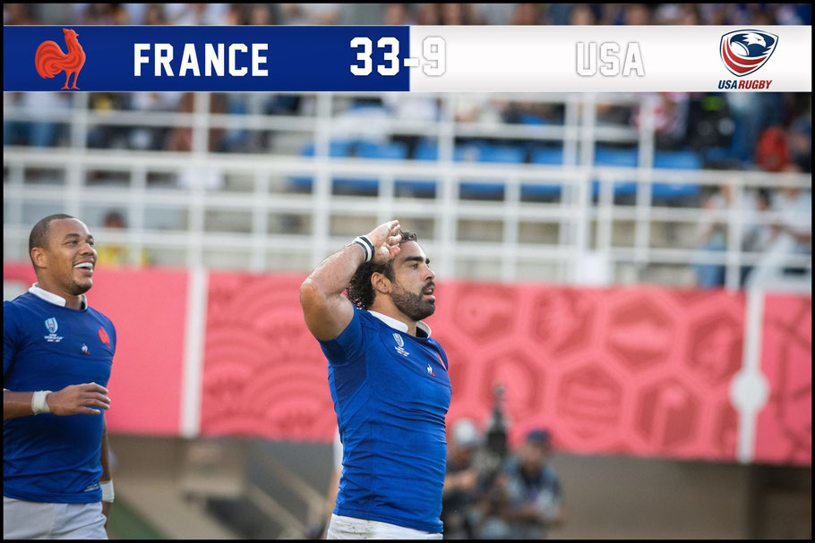 France took a long time to pull away from the USA – Lionel Piguet, Inside Sport: Japan, Oct 2, 2019