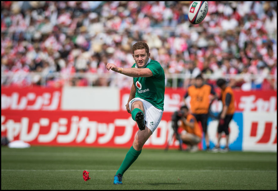 Paddy Jackson was perfect on five conversions and a penalty - John Gunning, Inside Sport: Japan, June 17, 2017