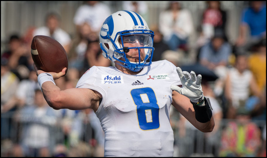 QB Garrett Safron had a strong XLeague debut – Lionel Piguet, Inside Sport: Japan, May 26, 2019
