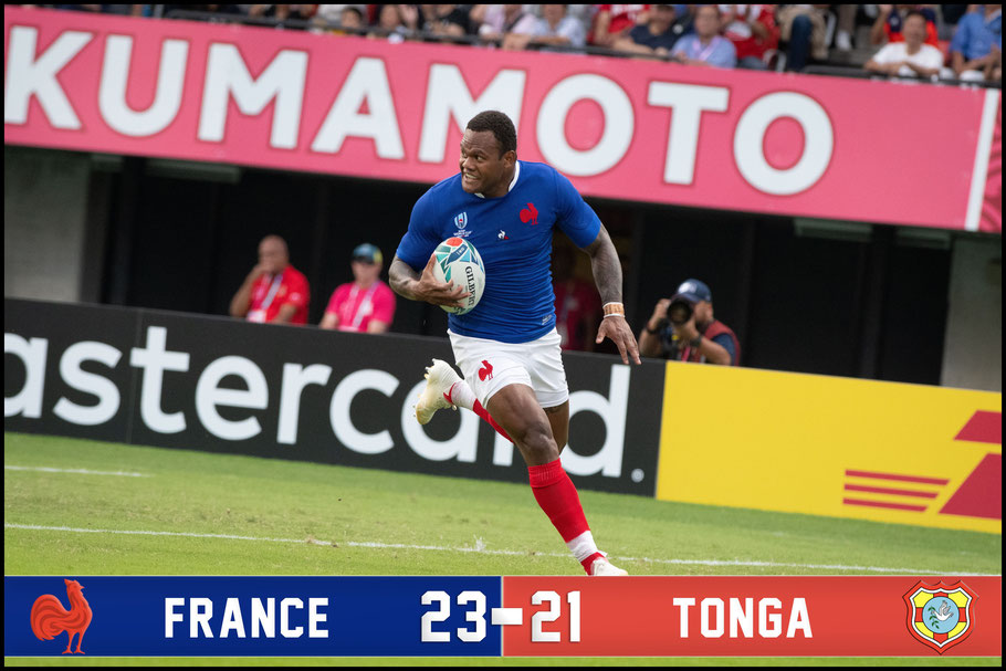 A hard fought win over Tonga sent France through to the quarterfinals – Lionel Piquet, Inside Sport: Japan, Oct 6, 2019