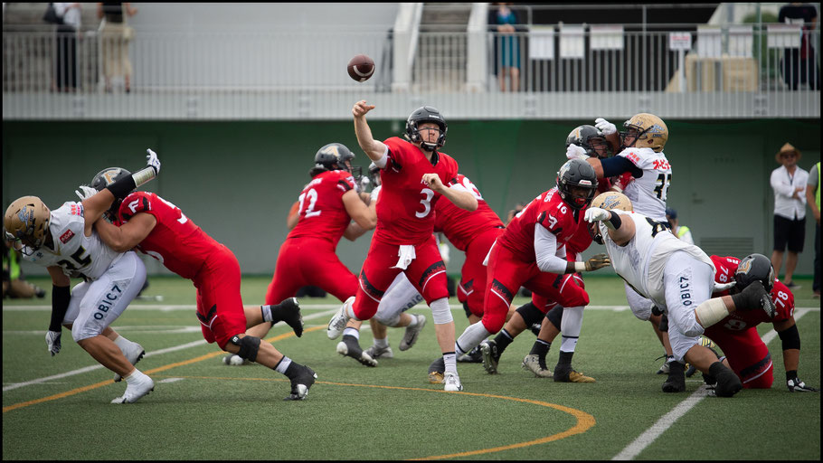 Birdsong in action in the Pearl Bowl semifinal – John Gunning, Inside Sport: Japan, June 2, 2019