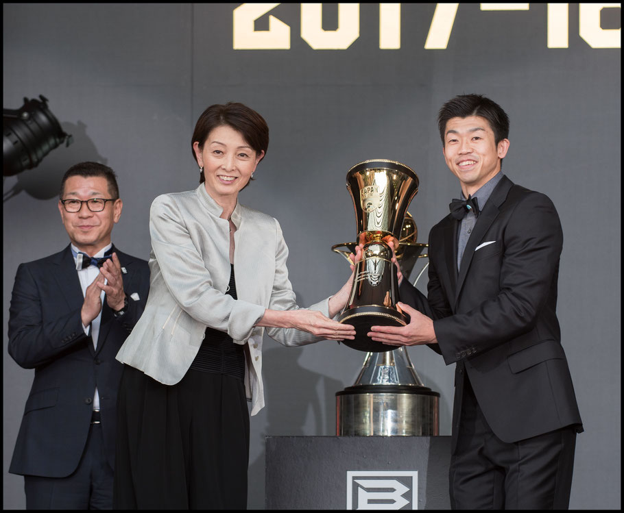 Takeki Shonaka at the 2018 B.League Awards – Chris Pfaff, Inside Sport: Japan, May 29th, 2018
