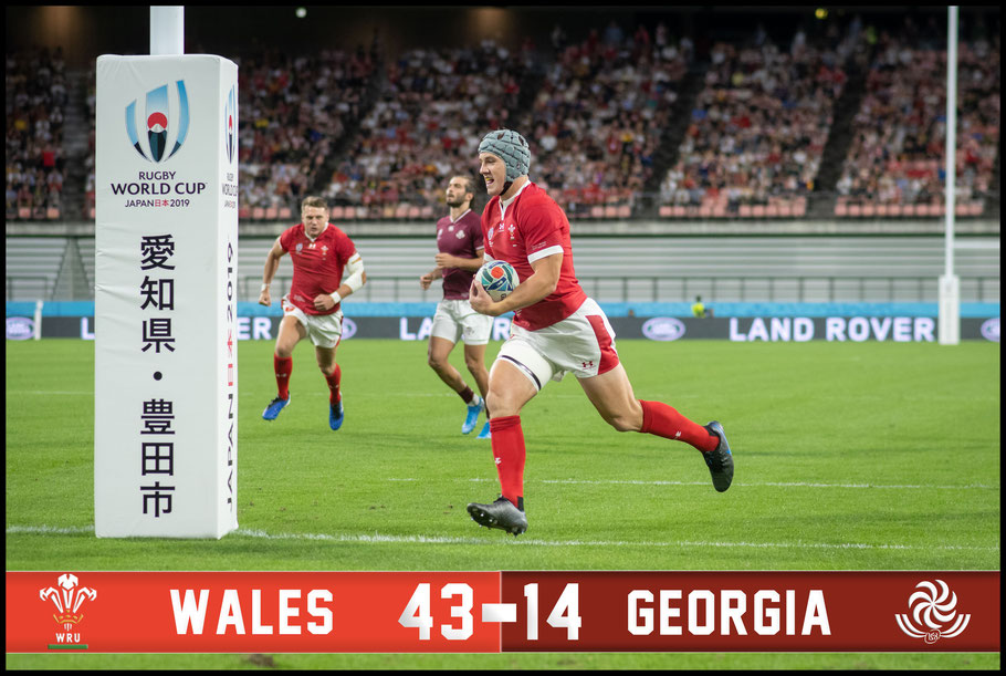 Wales started their World Cup with a strong win – Lionel Piguet, Inside Sport: Japan, Sept 23, 2019