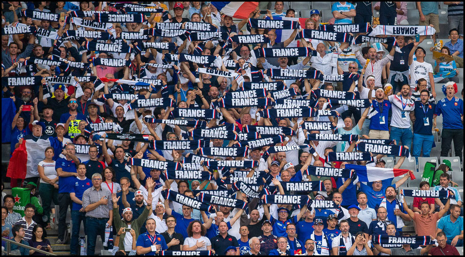 French fans were happy in the first half – John Gunning, Inside Sport: Japan, Sept 21, 2019