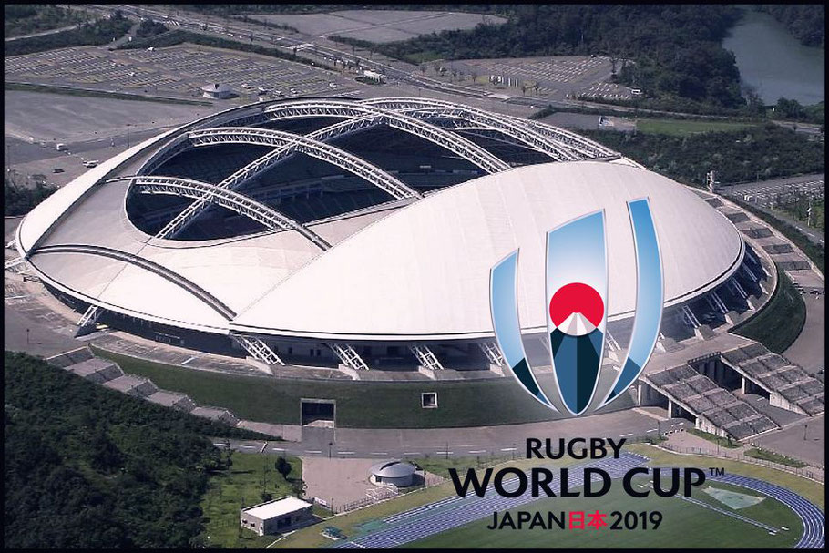 Oita Bank Dome is a venue for next year's World Cup - RWC 2019