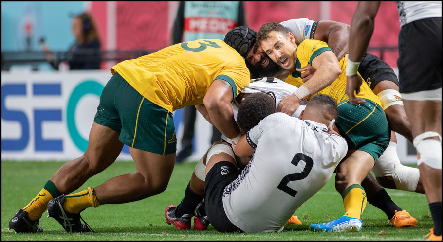Australia and Fiji was a hard fought match – Chris Pfaff, Inside Sport: Japan, Sept 21, 2019