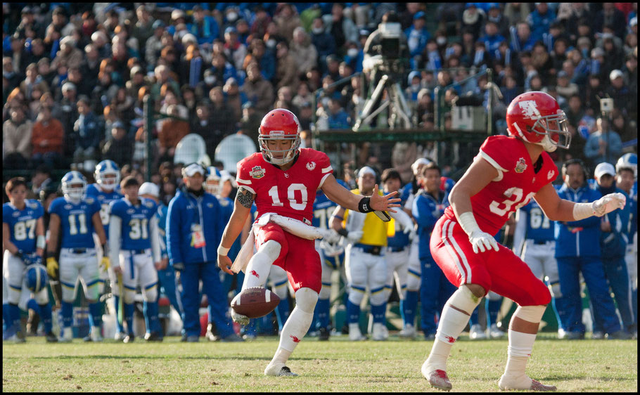 QB Taiki Hayashi ran, passed and even punted – Lionel Piguet, Inside Sport: Japan, Dec 17th, 2017