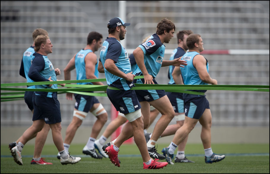 Waratahs train at the captain's run ahead of the game against Sunwolves – Sachiyo Karamatsu Inside Sport: Japan, April 6th, 2018