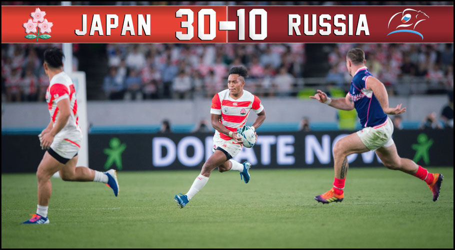 After a stuttering start Japan pulled away from Russia in the RWC 2019 opening game – Sachiyo Karamatsu Inside Sport: Japan, Sept 20, 2019
