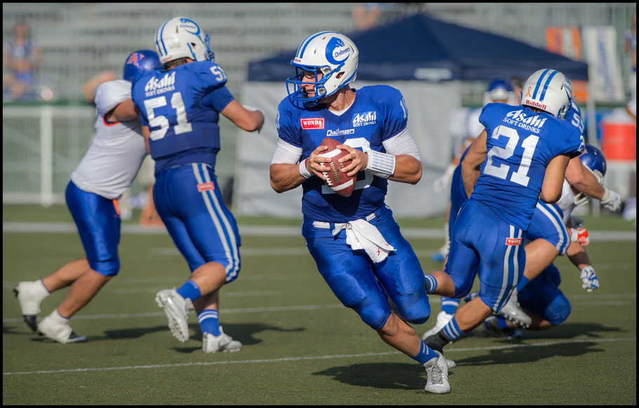 QB Alex Niznak led his team to a win in his XLeague debut - John Gunning, Inside Sport: Japan, Aug 27, 2017