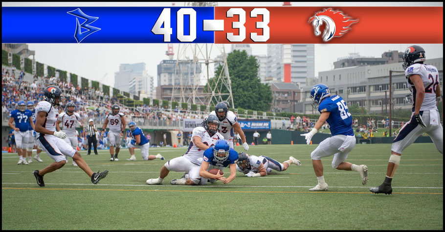 Craft dives for a TD with two minutes left in regulation as IBM overcame Nojima in the semifinal – John Gunning, Inside Sport: Japan, June 2, 2019