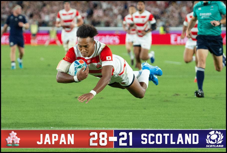 Kotaro Matsushima scores – John Gunning Inside Sport: Japan, October 13, 2019