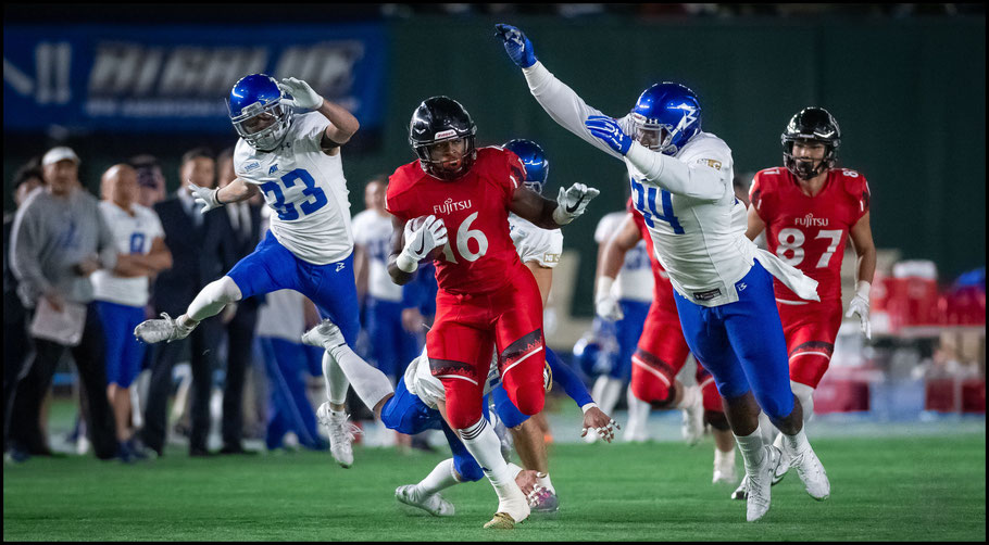 Trashaun Nixon rushed for 196 yards with 3 TDs  – John Gunning, Inside Sport: Japan, Dec 17th, 2018