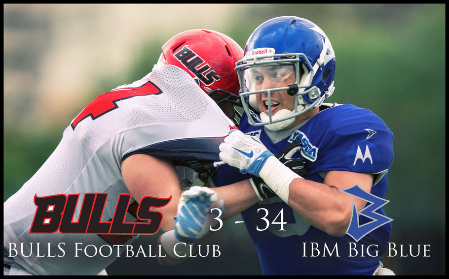 IBM Big Blue's Kevin Coughlan in action during the 2017 Pearl Bowl Opener - John Gunning, Inside Sport: Japan, April 22, 2017