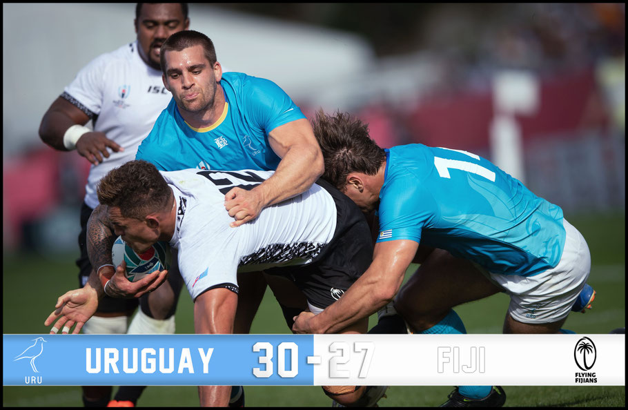 Uruguay shocked Fiji in Kamaishi– Sachiyo Karamatsu, Inside Sport: Japan, Sept 25, 2019