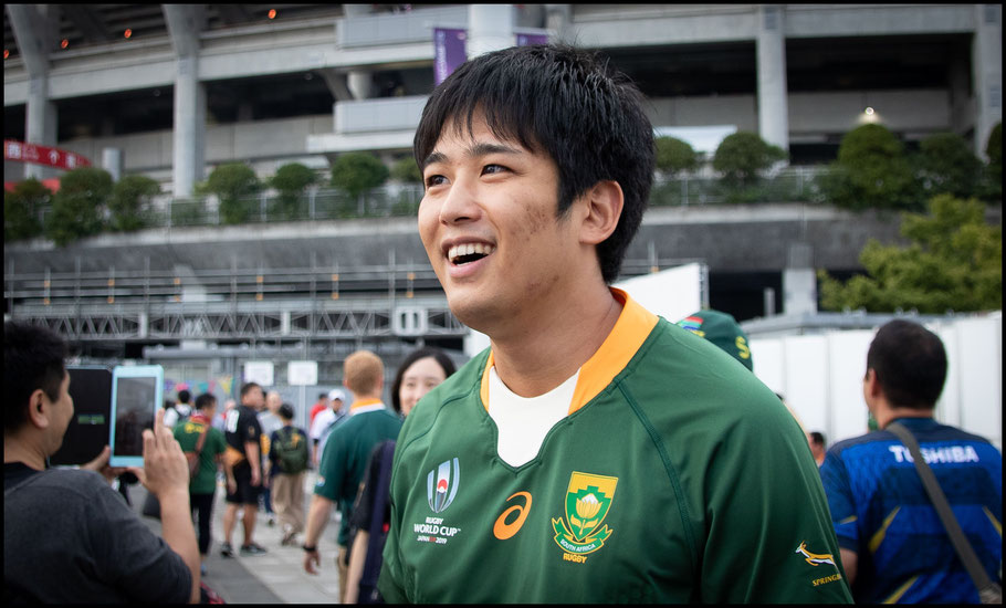 Masaya Kimura was supporting South Africa – Sachiyo Karamatsu, Inside Sport: Japan, Sept 21, 2019