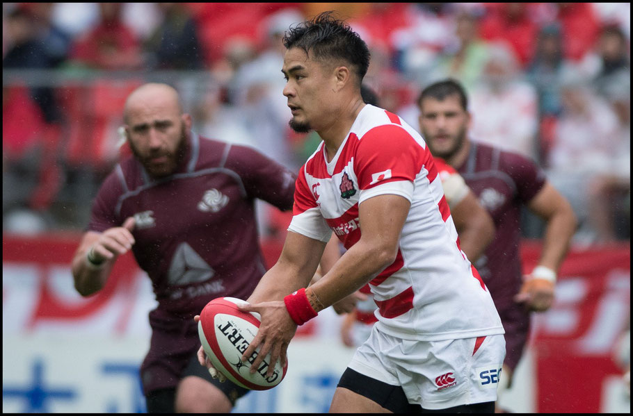 Yu Tamaura is a key player for both Sunwolves and Japan