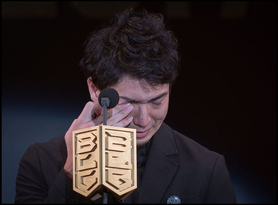 Makoto Hiejima gets emotional at the 2018 B.League Awards – Chris Pfaff, Inside Sport: Japan, May 29th, 2018