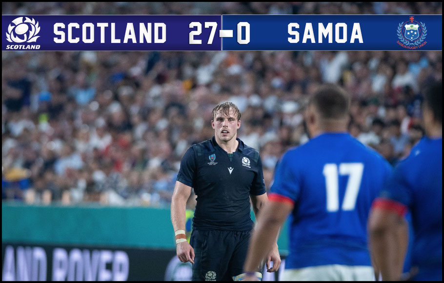 Scotland overcame Samoa in a sloppy game – Lionel Piguet, Inside Sport: Japan, Sept 30, 2019