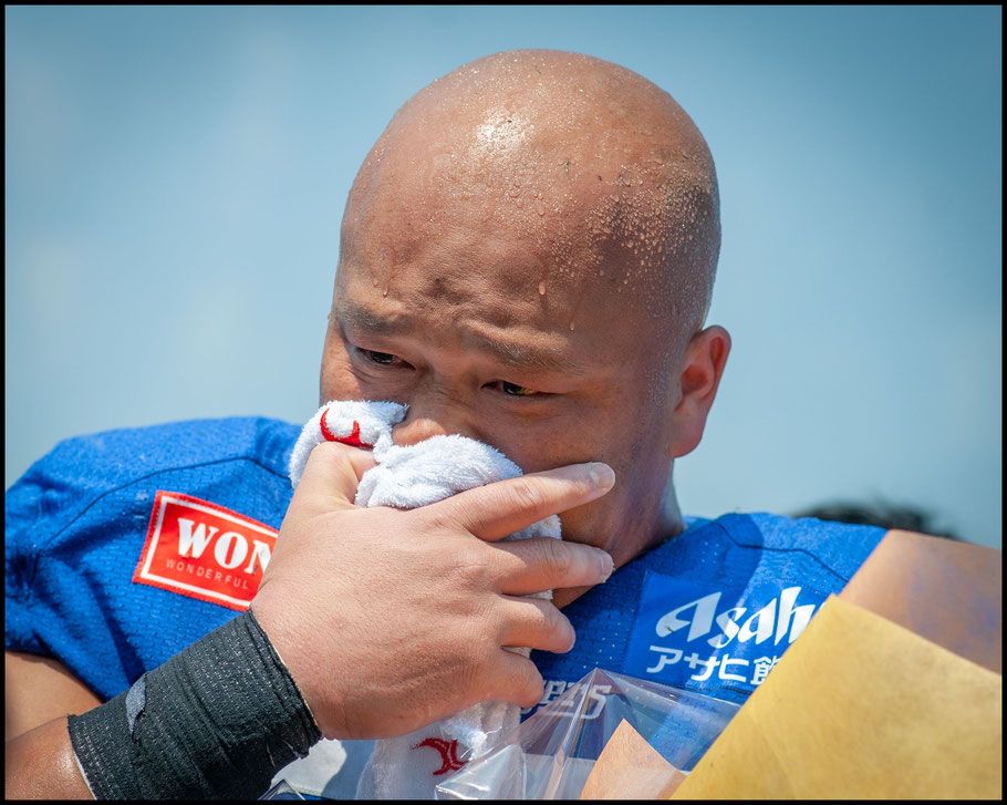 Veteran OL Takehito Noda fights back tears after his last game for Challengers – Lionel Piguet, Inside Sport: Japan, May 11, 2019