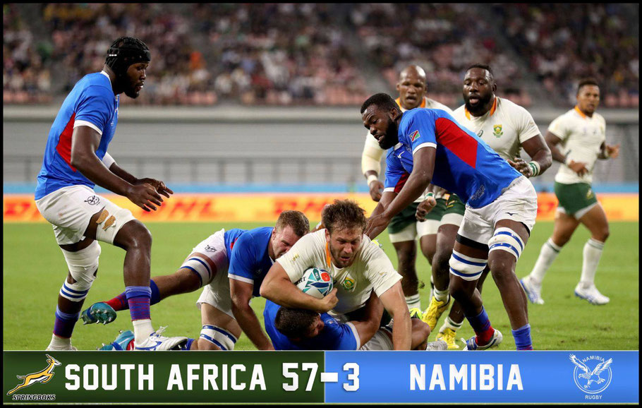 South Africa roared back from their opening game defeat - David Ramos (World Rugby via Getty)