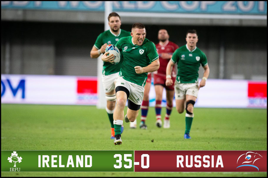 Ireland make hard word of their win over Russia – John Gunning, Inside Sport: Japan, Oct 3, 2019