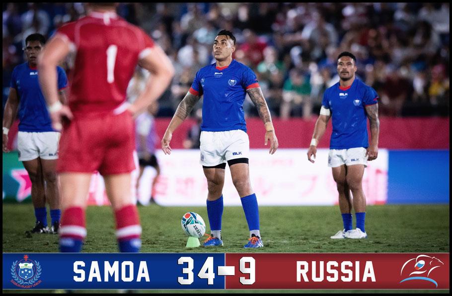 Samona overcame Russia in a physical encounter in Kumagaya – Sachiyo Karamatsu, Inside Sport: Japan, Sept 24, 2019