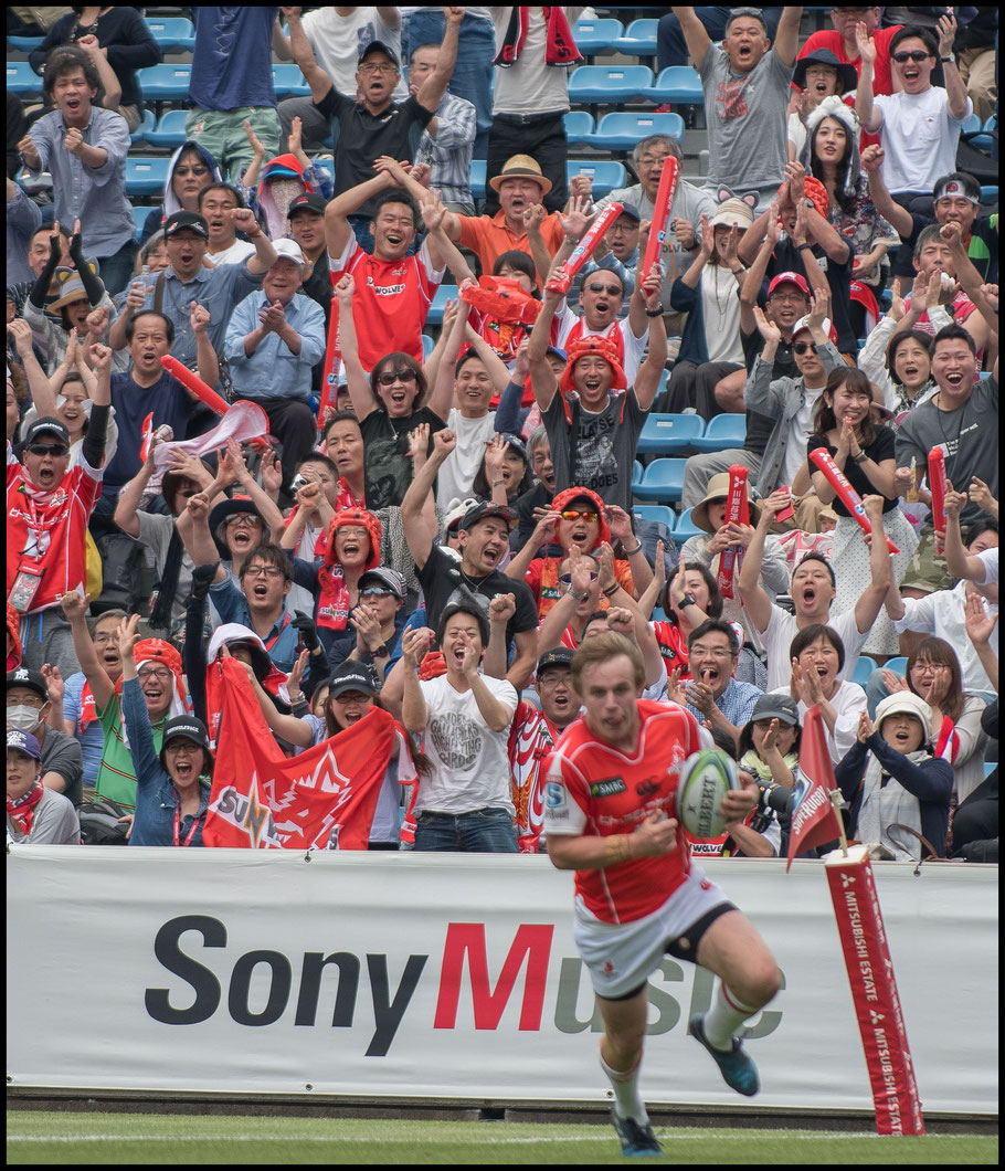 Parker scores in front of delighted home fans – Chris Pfaff Inside Sport: Japan, May 12th, 2018