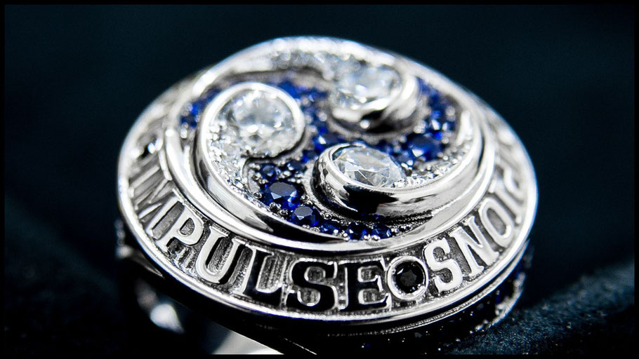 The 2016 Panasonic Impulse championship ring – John Gunning, Inside Sport: Japan, Aug, 2017