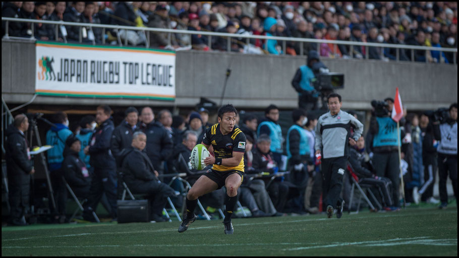 Suntory half-back Yutaka Nagare – John Gunning, Inside Sport: Japan, Jan 13th, 2018