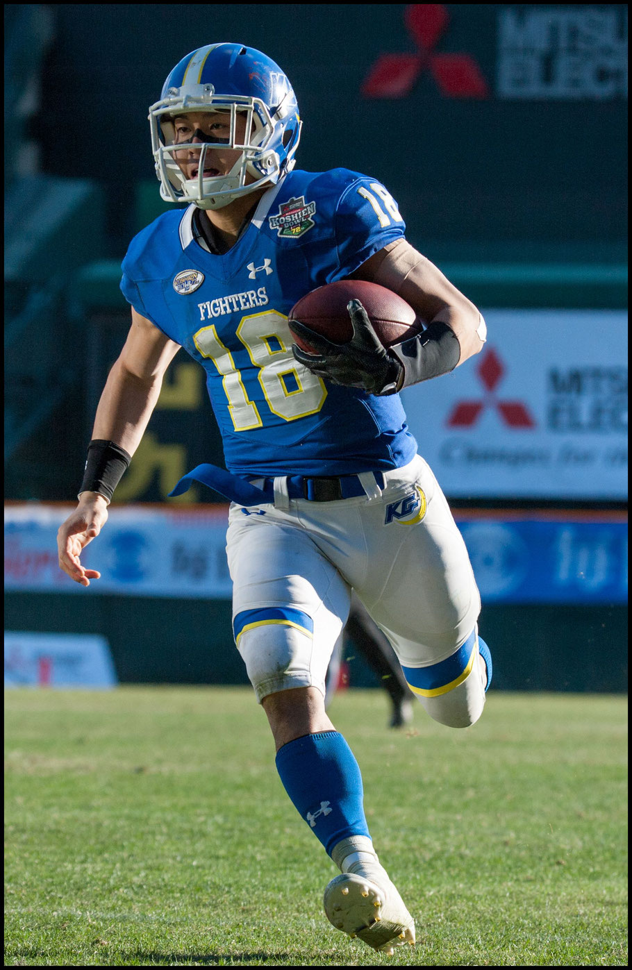 QB Koki Nishino played well but couldn't lead his team to the victory – Lionel Piguet, Inside Sport: Japan, Dec 17th, 2017