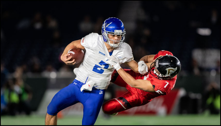 Yuki Masamoto got the start for Big Blue at QB – Sachiyo Karamatsu, Inside Sport: Japan, Dec 17th, 2018
