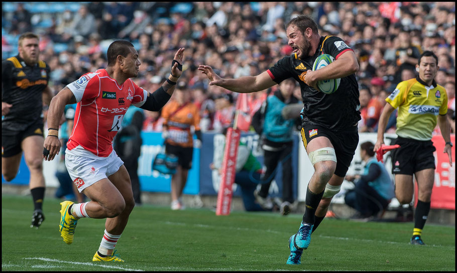 Sunwolves avenged this 2018 defeat to New Zealand side the Chiefs in round three this year.