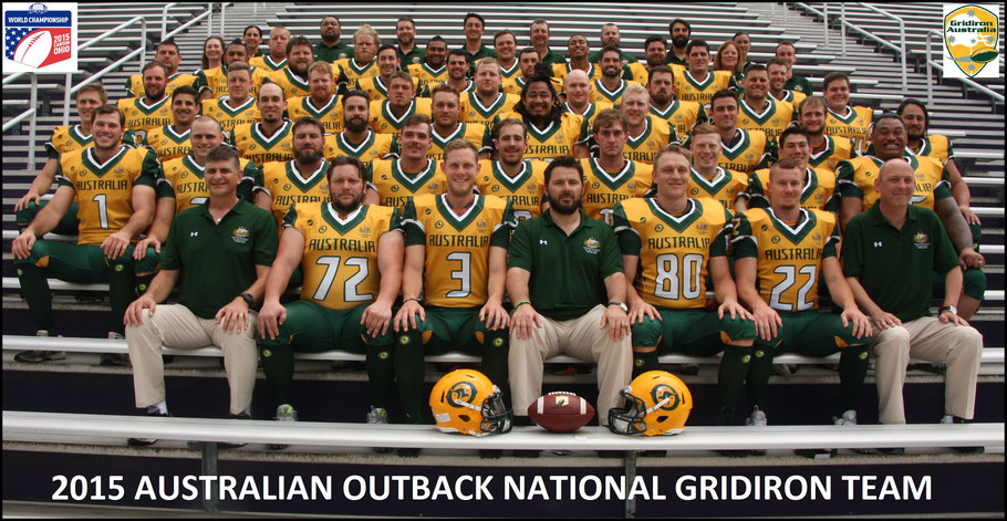 The Australian team that finished fifth at the 2015 World Championship — Photo Courtesy of Joshua Faure: July 6, 2015