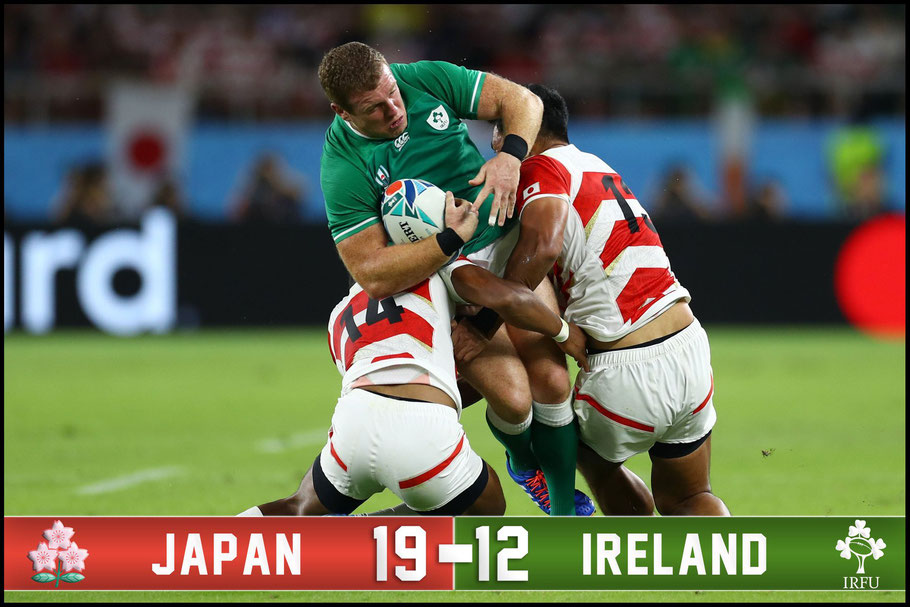Japan stunned the world with this win - Clive Rose (World Rugby via Getty)