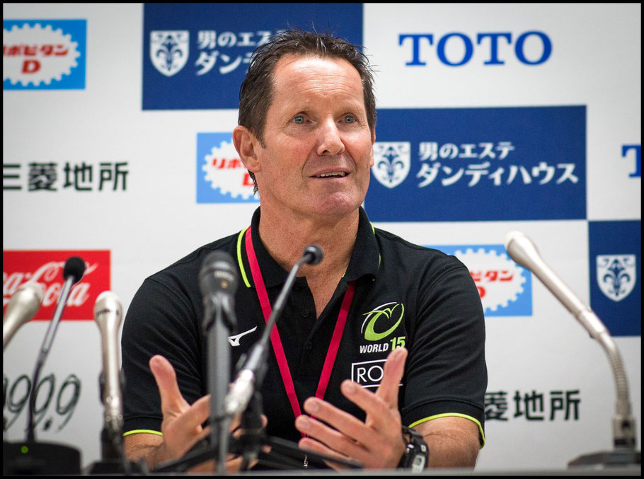 World XV Coach Robbie Deans - Lionel Piguet, Inside Sport: Japan, Oct 16, 2018