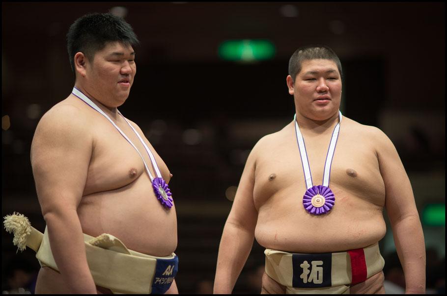 Kojiro Kurokawa (right) and his brother Sochichiro– John Gunning, Dec 6th, 2015