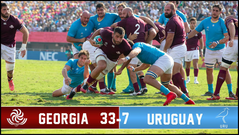 There was no second upset win for Uruguay – Chris Pfaff, Inside Sport: Japan, Sept 29, 2019