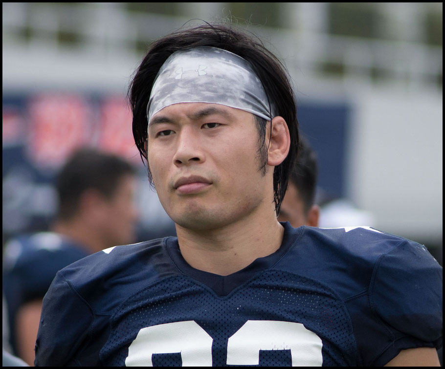 Silver Star Wideout Yuta Hayashi is one of the XLeague's top receivers — Chris Pfaff, Inside Sport: Japan, August 26, 2017