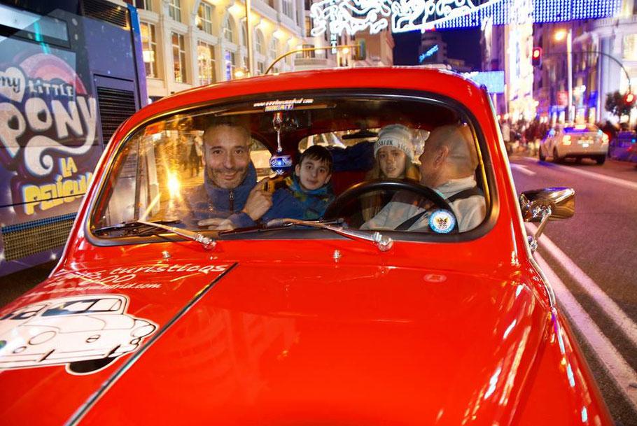Naviluz tour Navidad Madrid Seat 600