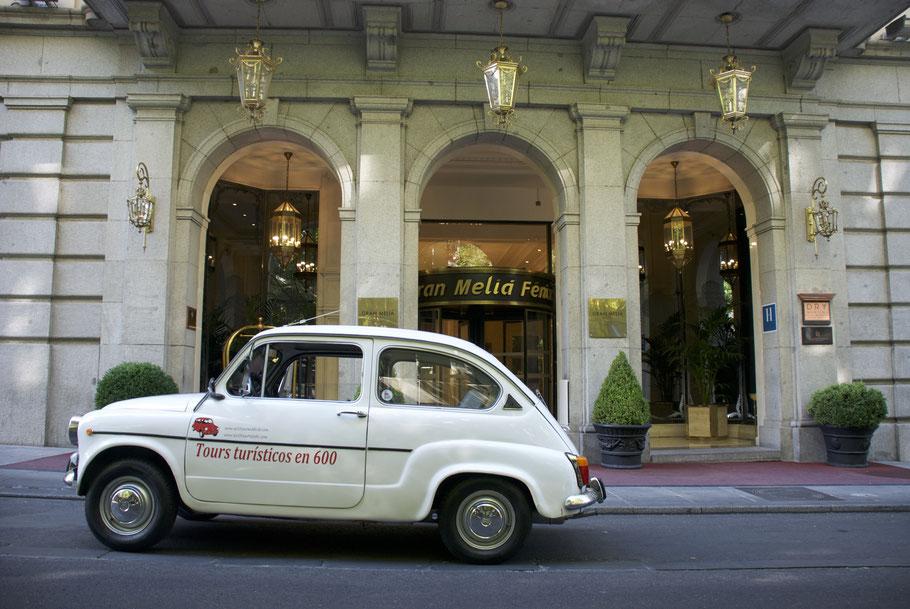 Hotel lujo Madrid turismo