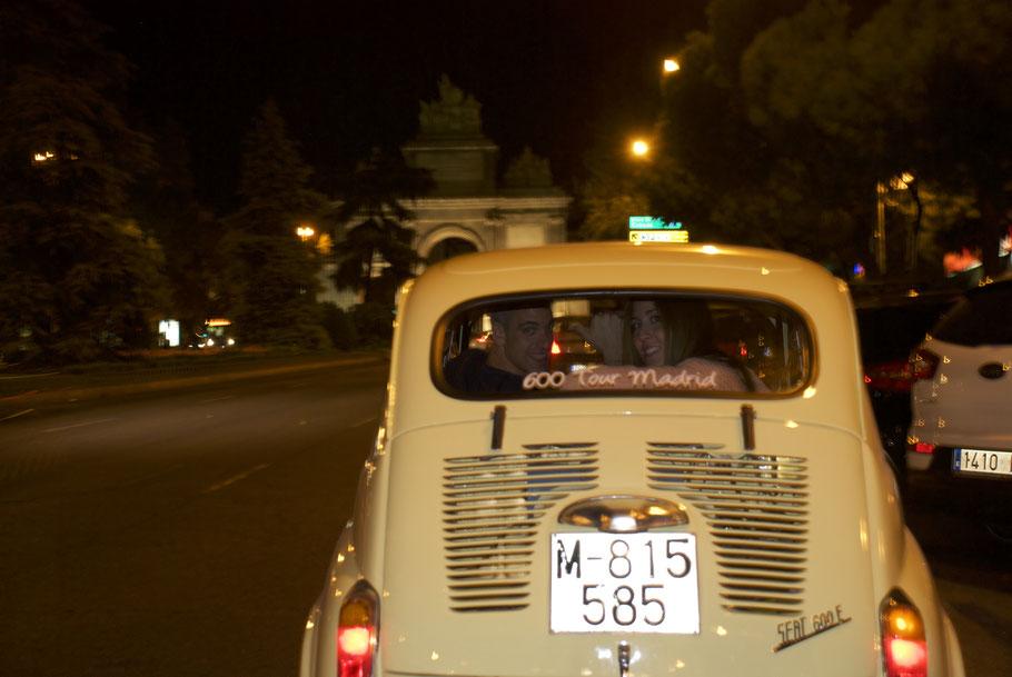 Puerta de Toledo tour nocturno